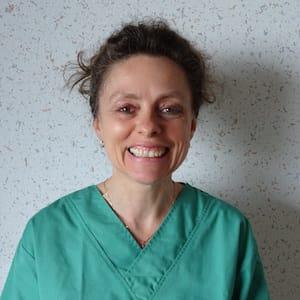 Valérie Palate, Infirmière