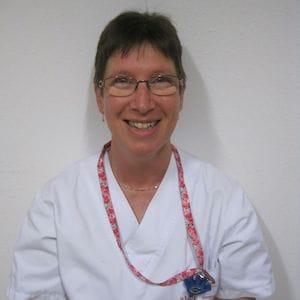 Anne Lelièvre, Infirmière