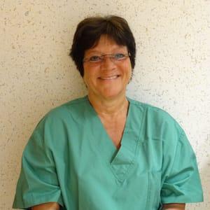 Anne Danthée, Infirmière