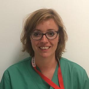 Evelyne Crombez, infirmière SIP