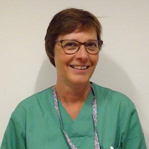 Monique Evenepoel, Infirmière