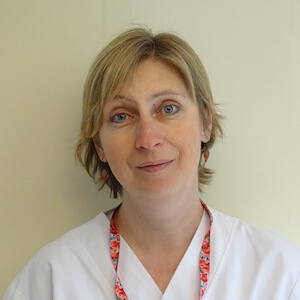 Myriam Fabry, Infirmière